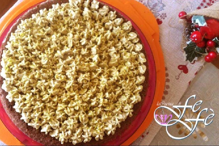 Crostata morbida al cacao con ganache di pistacchi - Step 8 - Immagine 1