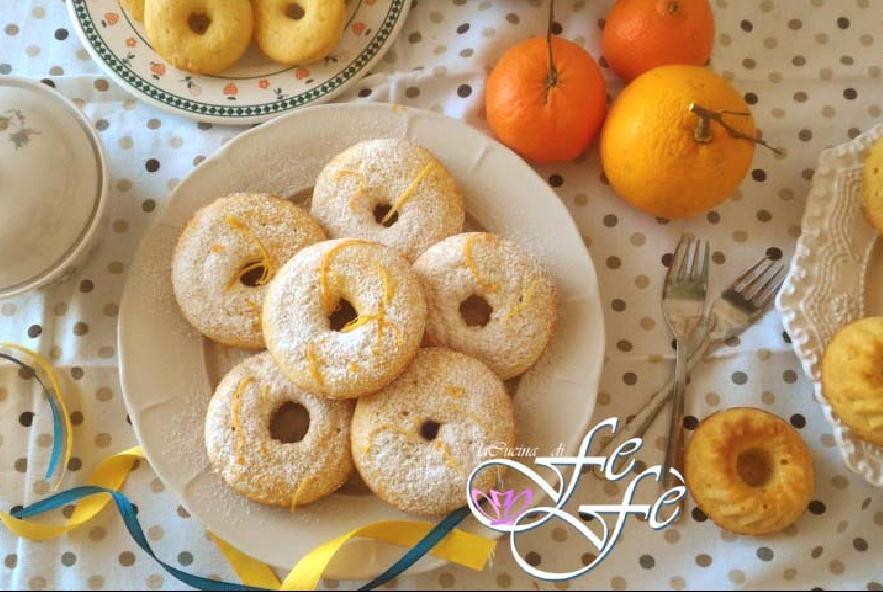 Ciambelle al miele e mandarino - Step 5 - Immagine 1
