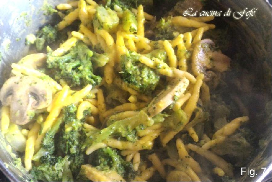 Trofie vegetariane al forno con crema alla curcuma - Step 4 - Immagine 1