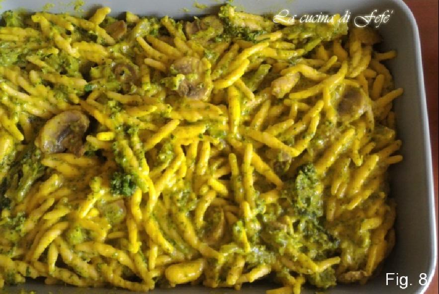 Trofie vegetariane al forno con crema alla curcuma - Step 4 - Immagine 2