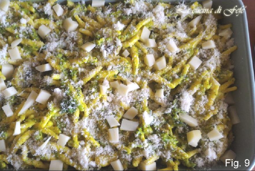 Trofie vegetariane al forno con crema alla curcuma - Step 5 - Immagine 1