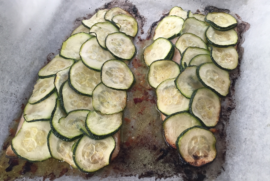 Trota in crosta di zucchine - Step 6 - Immagine 1