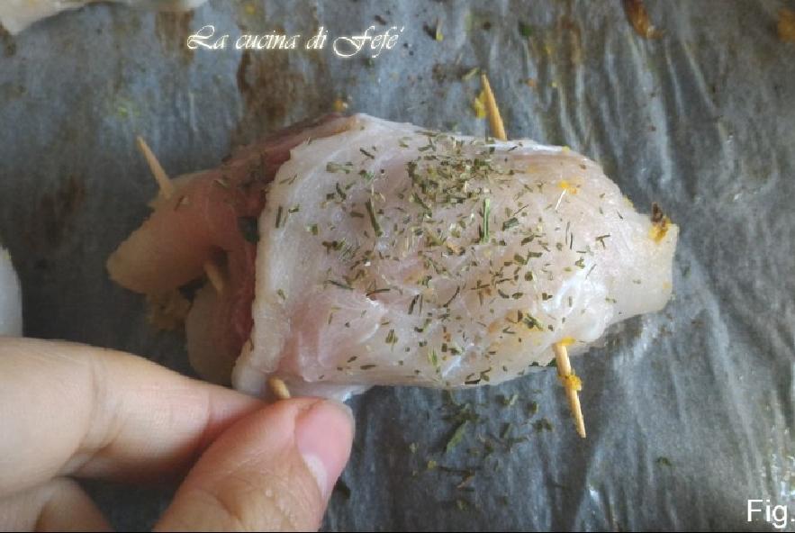 Involtini di pesce spada al finocchio - Step 3 - Immagine 2
