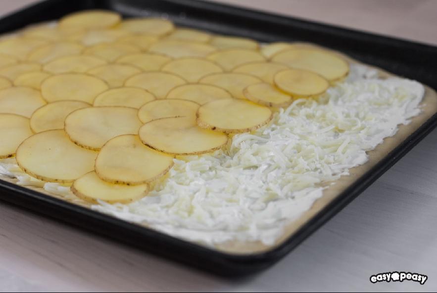 Focaccia patate e formaggio - Step 2 - Immagine 1