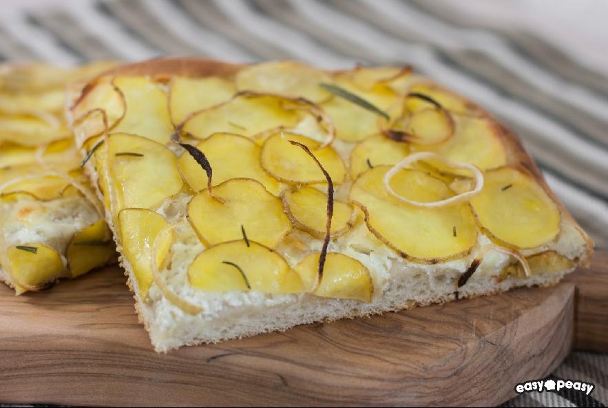 Focaccia patate e formaggio - Step 4 - Immagine 1