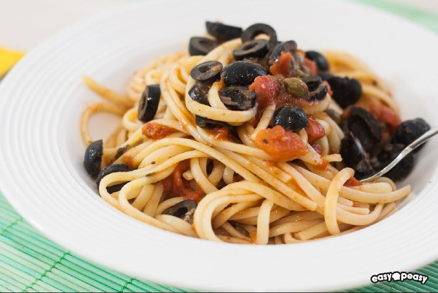 Linguine alla puttanesca - Step 2 - Immagine 1
