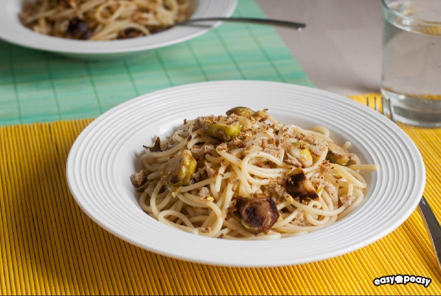 Pasta cavolini e limone - Step 4 - Immagine 1