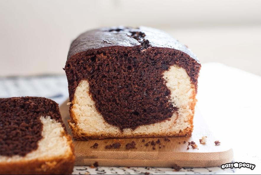Plum cake bicolore - Step 6 - Immagine 1