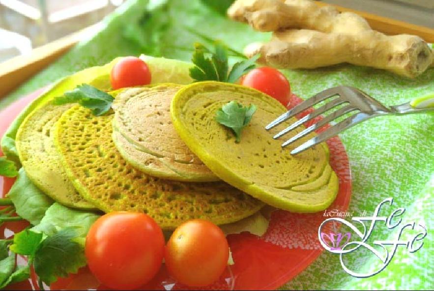 Pancake salati con farina di piselli - Step 2 - Immagine 2