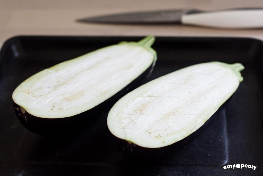 Pasta con pesto di zucchine e melanzane - Step 1 - Immagine 1