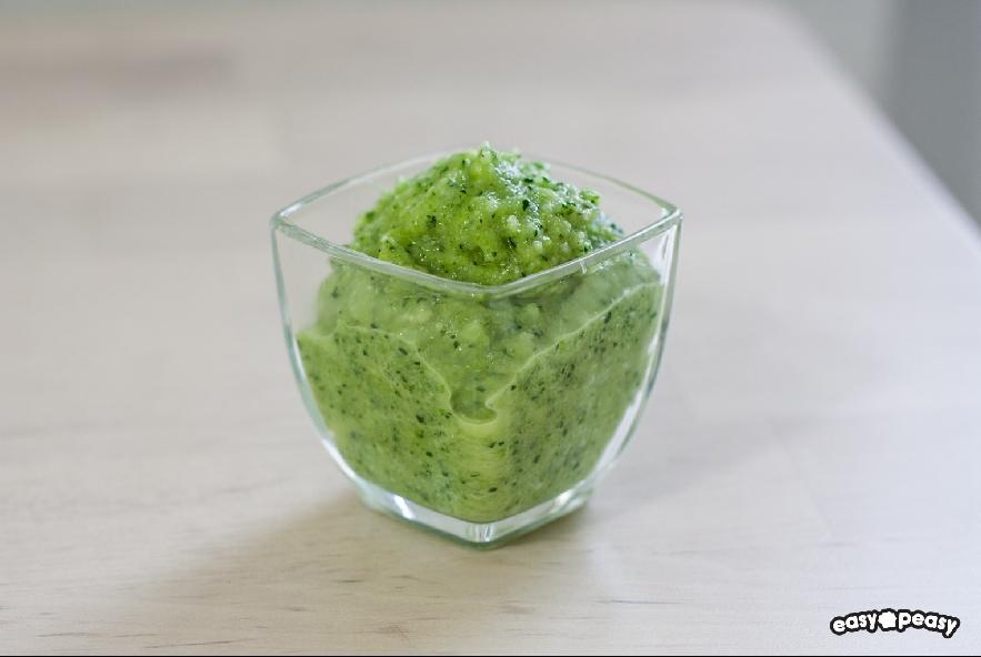 Pasta con pesto di zucchine e melanzane - Step 3 - Immagine 1