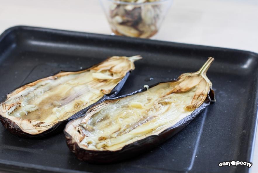 Pasta con pesto di zucchine e melanzane - Step 4 - Immagine 1