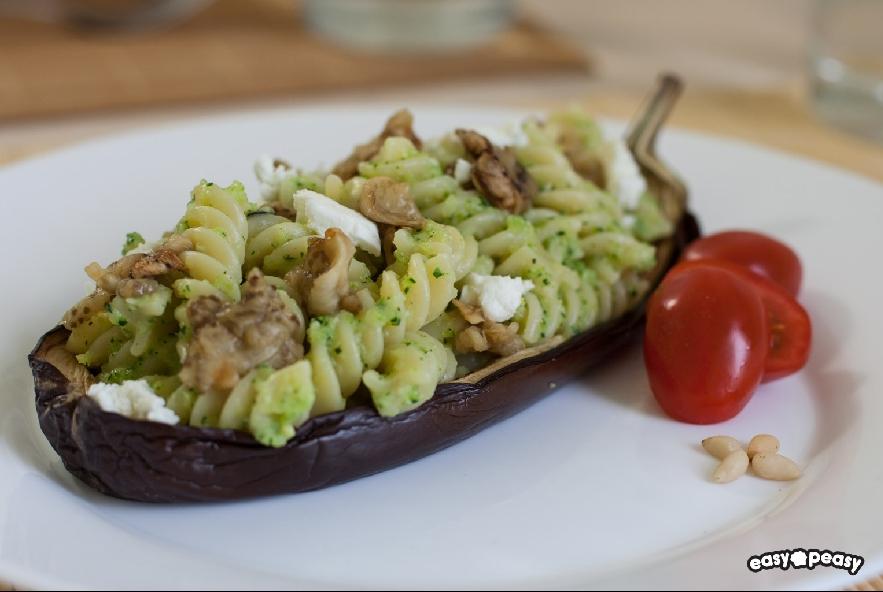 Pasta con pesto di zucchine e melanzane - Step 5 - Immagine 1