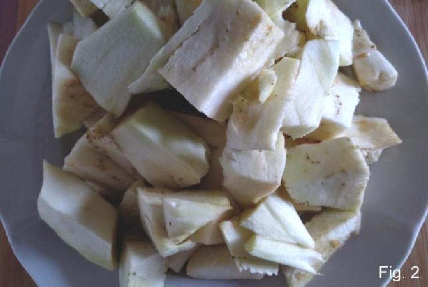 Barchette di melanzane ripiene di riso e pomodori - Step 1 - Immagine 2