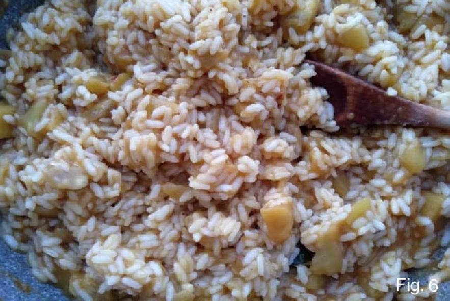 Barchette di melanzane ripiene di riso e pomodori - Step 3 - Immagine 1
