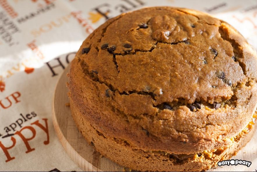 Torta zucca, castagne e cioccolato - Step 8 - Immagine 1