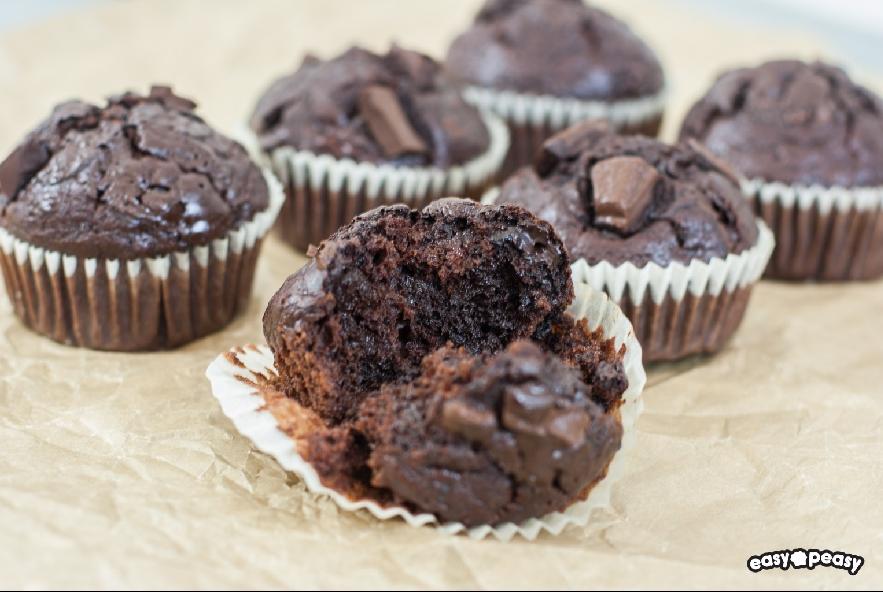 Muffin cioccobanana - Step 5 - Immagine 1