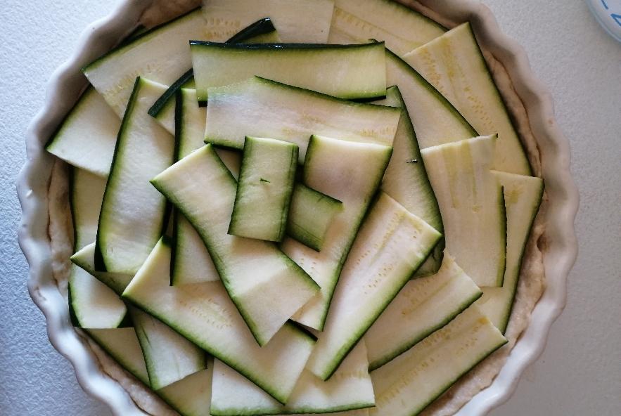 Torta rustica zucchine, provola e patate - Step 3 - Immagine 2