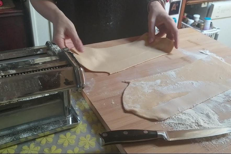 Pansotti con salsa di noci - Step 9 - Immagine 3