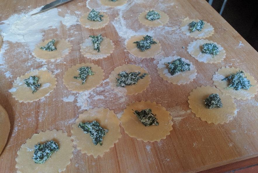 Pansotti con salsa di noci - Step 10 - Immagine 1