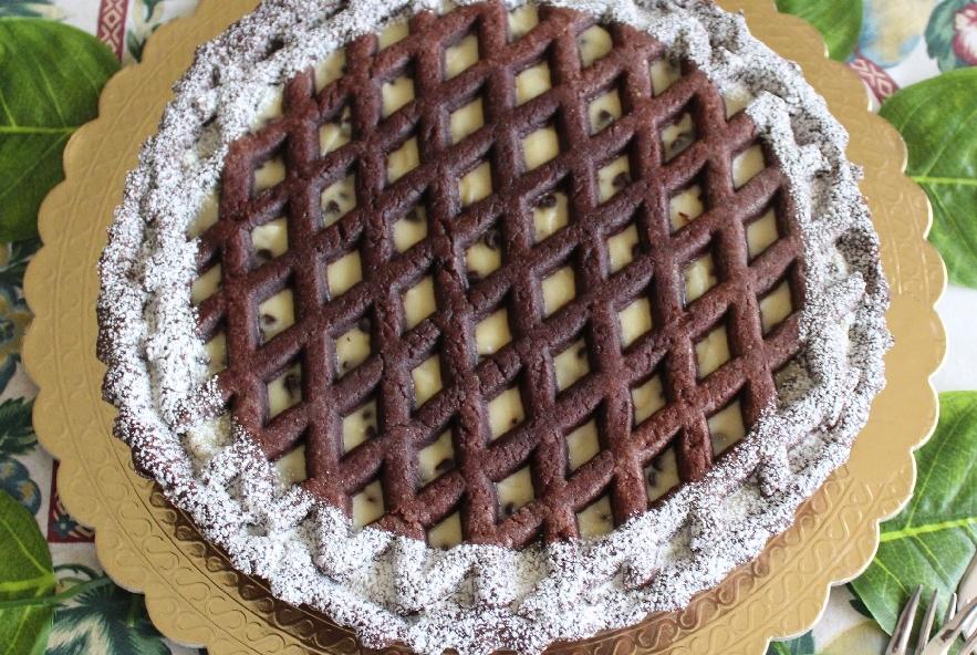 Crostata al cacao ricotta e gocce di cioccolato - Step 4 - Immagine 1