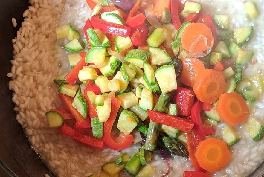 Risotto primavera con verdure fresche - Step 4 - Immagine 4