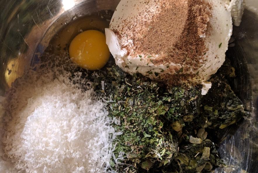 Torta pasqualina integrale con bietole - Step 3 - Immagine 1