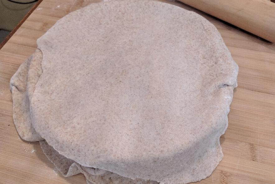 Torta pasqualina integrale con bietole - Step 4 - Immagine 4