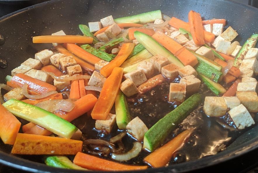 Tofu alle verdure croccanti e soia - Step 2 - Immagine 1