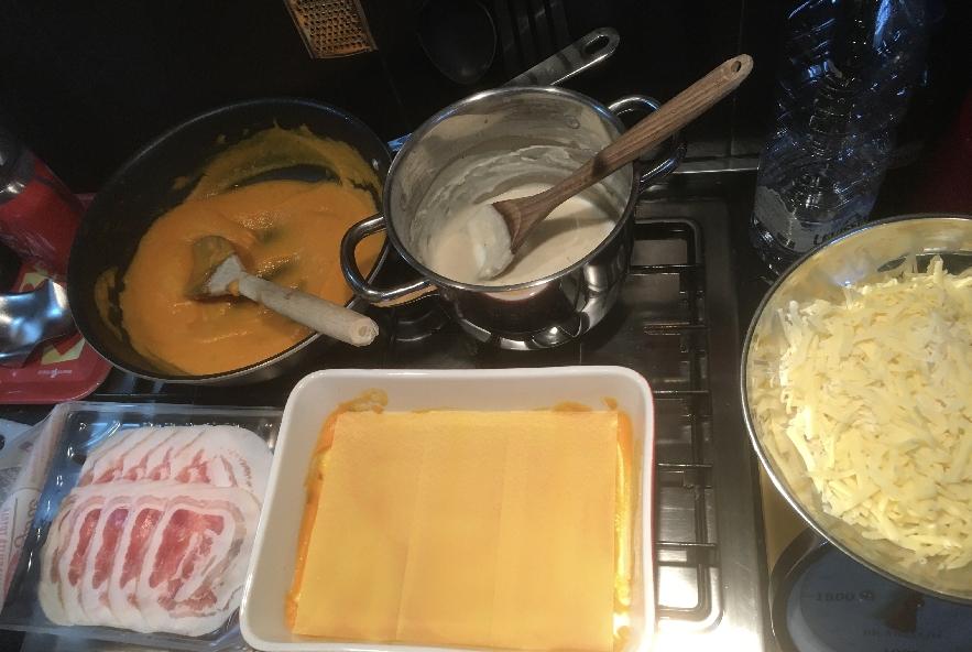 Lasagne zucca e pancetta - Step 2 - Immagine 1