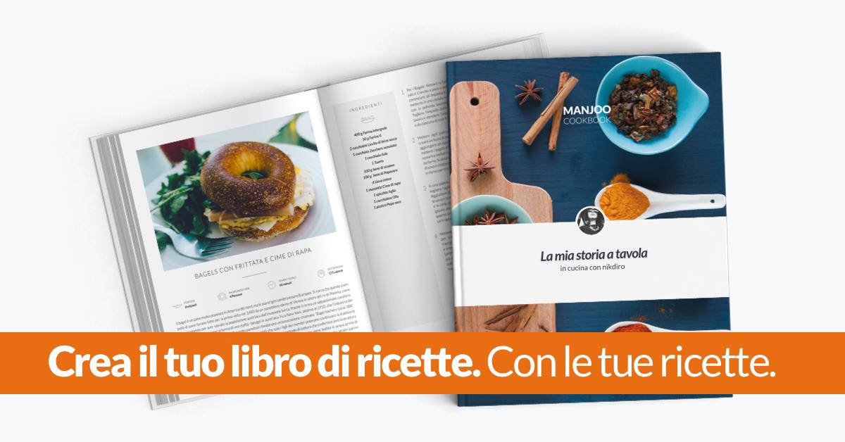 Manjoo crea il tuo libro di ricette con le tue ricette for Crea la tua casa online