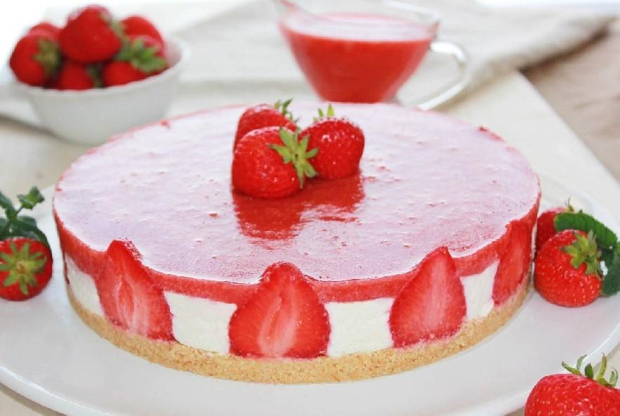 Ricetta Cheesecake Alle Fragole Manjoo