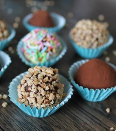Piccoli tartufi al cioccolato