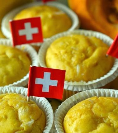 Muffin salati zucca e sbrinz