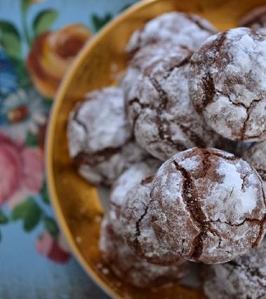 Biscotti al cioccolato al cuore morbido