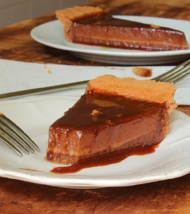 Crostata al triplo cioccolato