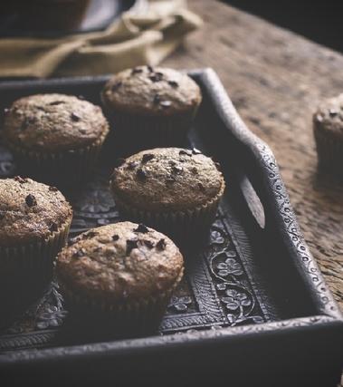 Muffin con pezzetti di cioccolato