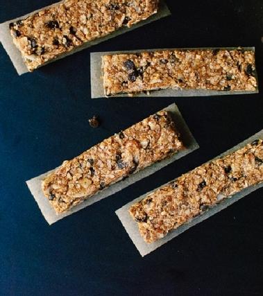 Croccantini di granola al miele e cioccolato