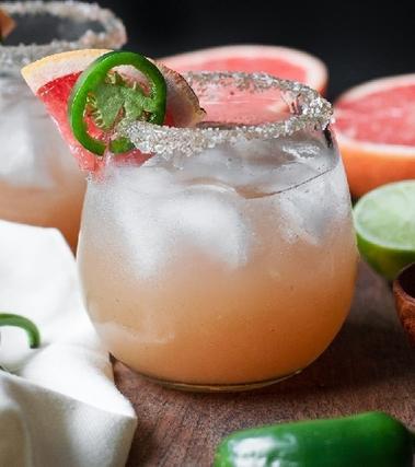 Margarita al pompelmo speziato