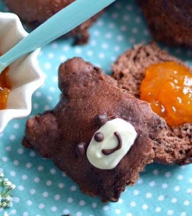Panini orsacchiotti al cioccolato