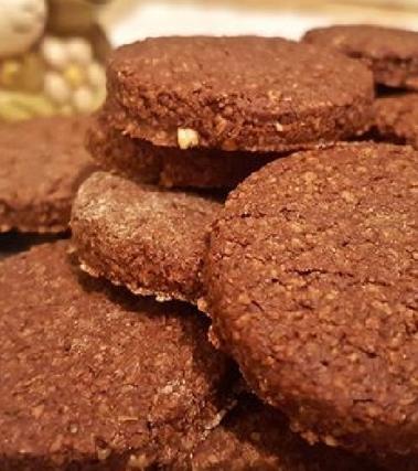 Biscotti alla farina e crusca d'avena