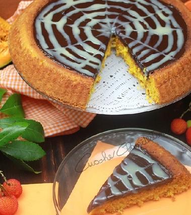 Torta di zucca e cioccolato gluten free
