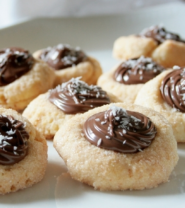 Biscotti cocco e nutella