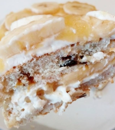 Pancake integrale alle prugne