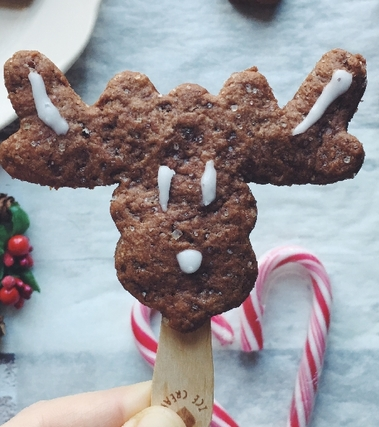 Biscotti di farro vegani al cacao