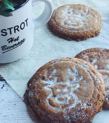 Biscotti alla cannella senza glutine e  lattosio