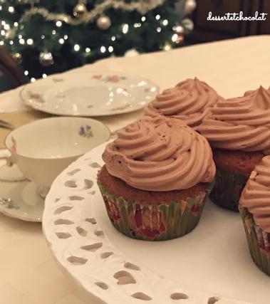 Cupcakes vaniglia e nutella