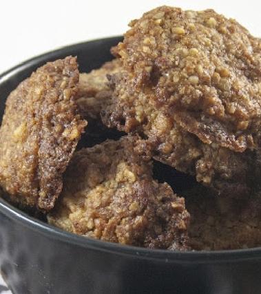 Biscottini vegani all'olio extravergine di oliva e