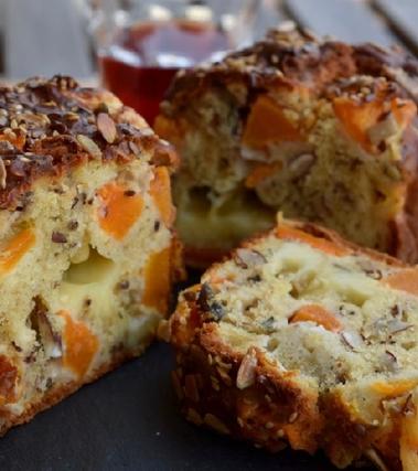 Plum-bread zucca e noci