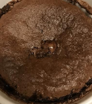 Tortino al cioccolato con cuore fondente